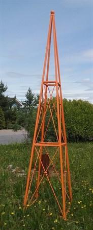 Пирамида с перекрестным плетением - фото 5199