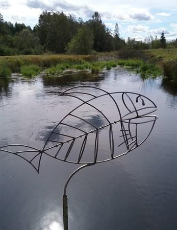 Рыба на ножке большая - фото 6489