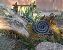 Улитка из рельефного прутка малая (горячая ковка)