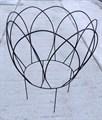 Корзинка - опора для пионов, роз и пр. - фото 5099